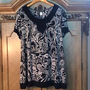 Short sleeve plus size dress. NWOT